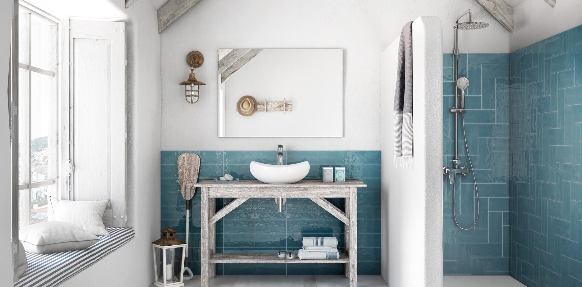 Banheiro com produtos da Roca