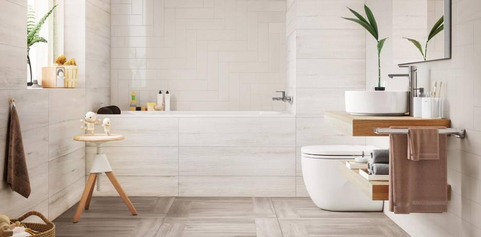 Banheiro reformado com produtos da Roca