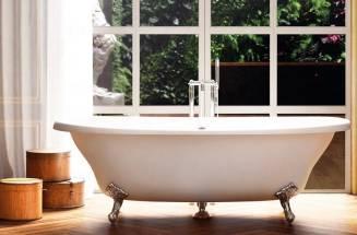 Banheiro clássico com produtos da Roca