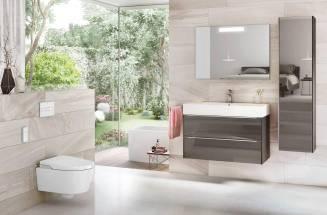 Diversos estilos em um só banheiro de ROCA